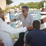 La tequila di Clooney. In gondola